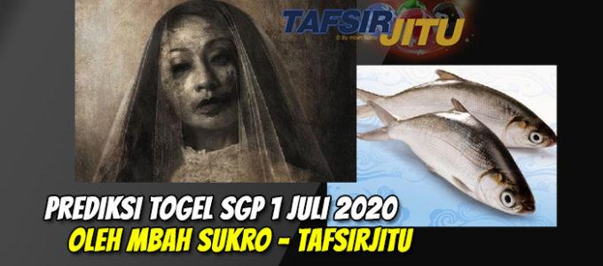 Prediksi Togel SGP 1 Juli 2020