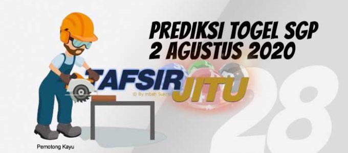 Prediksi Togel SGP 2 Agustus 2020 Oleh Mbah Sukro Tafsirjitu