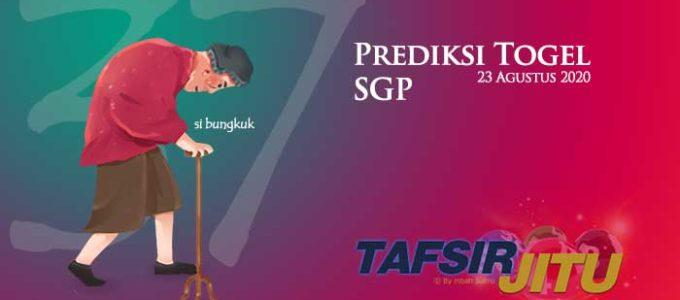 Prediksi Togel SGP 23 Agustus 2020 Oleh Mbah Sukro tafsirjitu