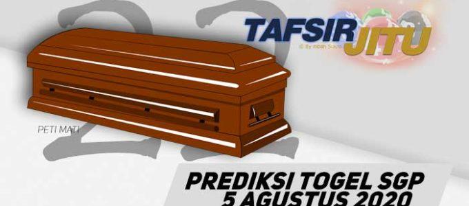Prediksi Togel SGP 5 Agustus 2020 Olej Mbah Sukro Tafsirjitu