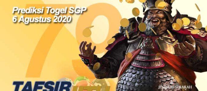 Prediksi Togel SGP 6 Agustus 2020 Oleh Mbah Sukro Tafsirjitu