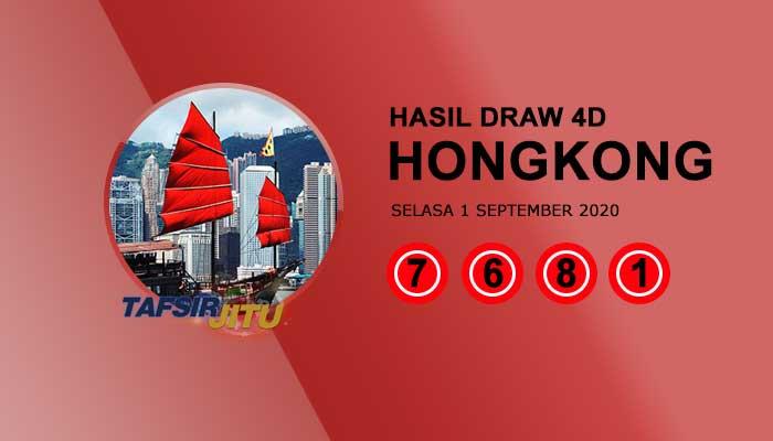 Pengeluaran hari ini HK Hongkong 1 September 2020 tafsirjitu