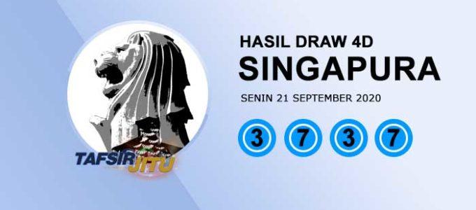 Pengeluaran hari ini SGP Singapura 21 September 2020 tafsirjitu