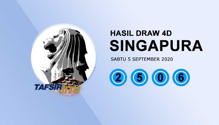 Pengeluaran hari ini SGP Singapura 5 September 2020 tafsirjitu
