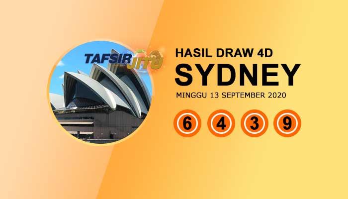 Pengeluaran hari ini SY Sydney 13 September 2020 tafsirjitu