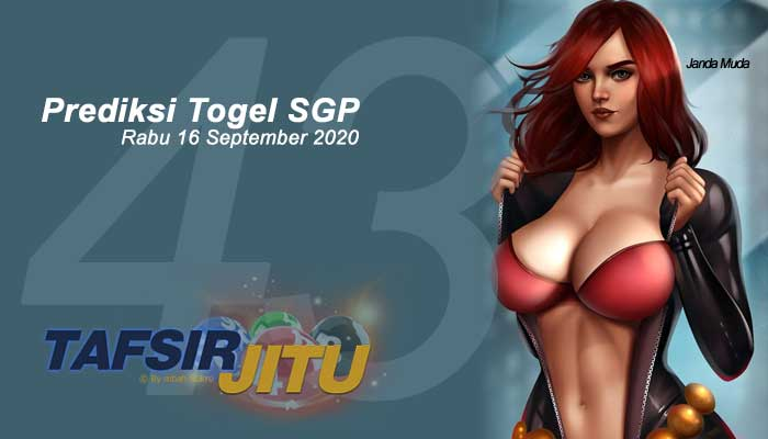 Prediksi Togel SGP 16 September 2020 Oleh Mbah Sukro Tafsirjitu
