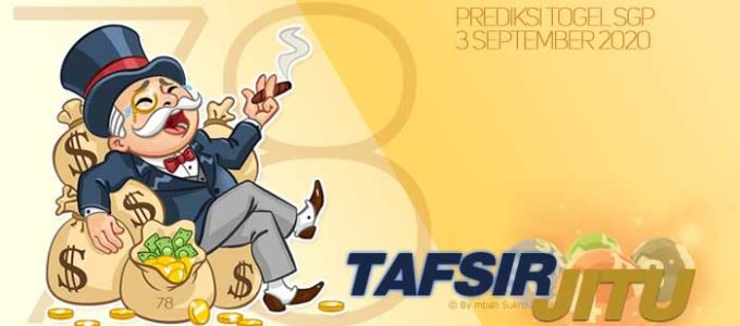 Prediksi Togel SGP 3 September 2020 Oleh Mbah Sukro Tafsirjitu