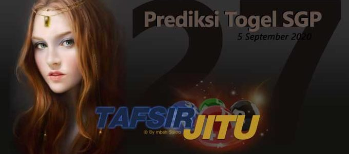 Prediksi Togel SGP 6 September 2020 Oleh Mbah Sukro Tafsirjitu