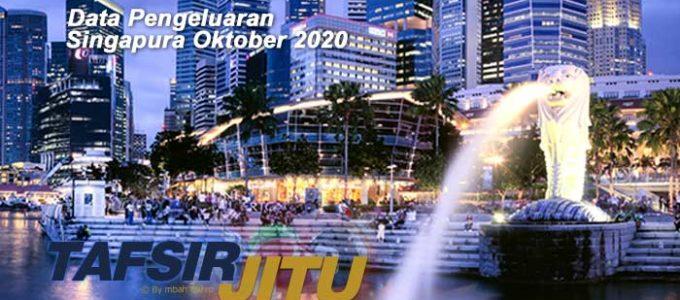 Data pengeluaran Singapura Oktober 2020