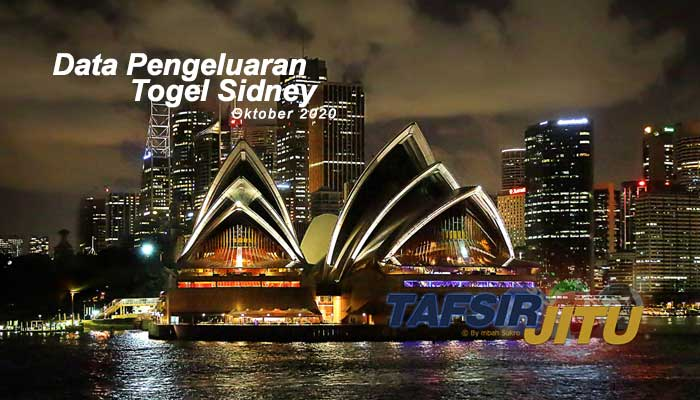 Data Pengeluaran Togel Sidney Oktober 2020