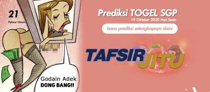 Prediksi Togel SGP 19 Oktober 2020 Oleh Mbah Sukro Tafsirjitu