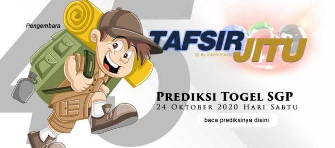 Prediksi Togel SGP 24 Oktober 2020 Oleh Mbah Sukro Tafsirjitu