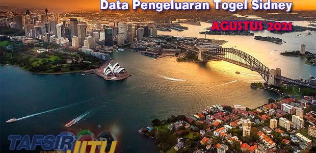 Data-Pengeluaran-Sidney-Agustus-2021