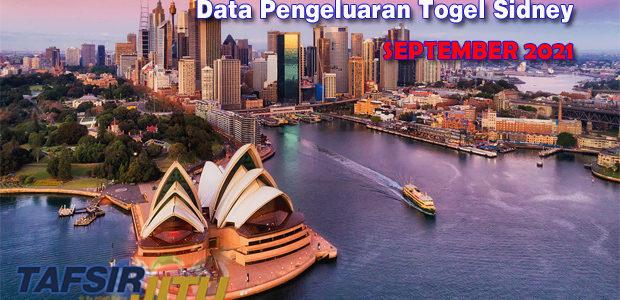 Data-Pengeluaran-Sidney-September-2021